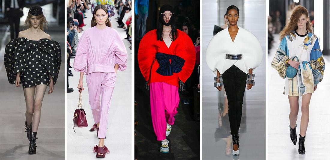 5f9b5b8b8 Эффектные рукава тренд весна-лето 2019 Celine, Valentino, Gucci, Balmain и  Louis