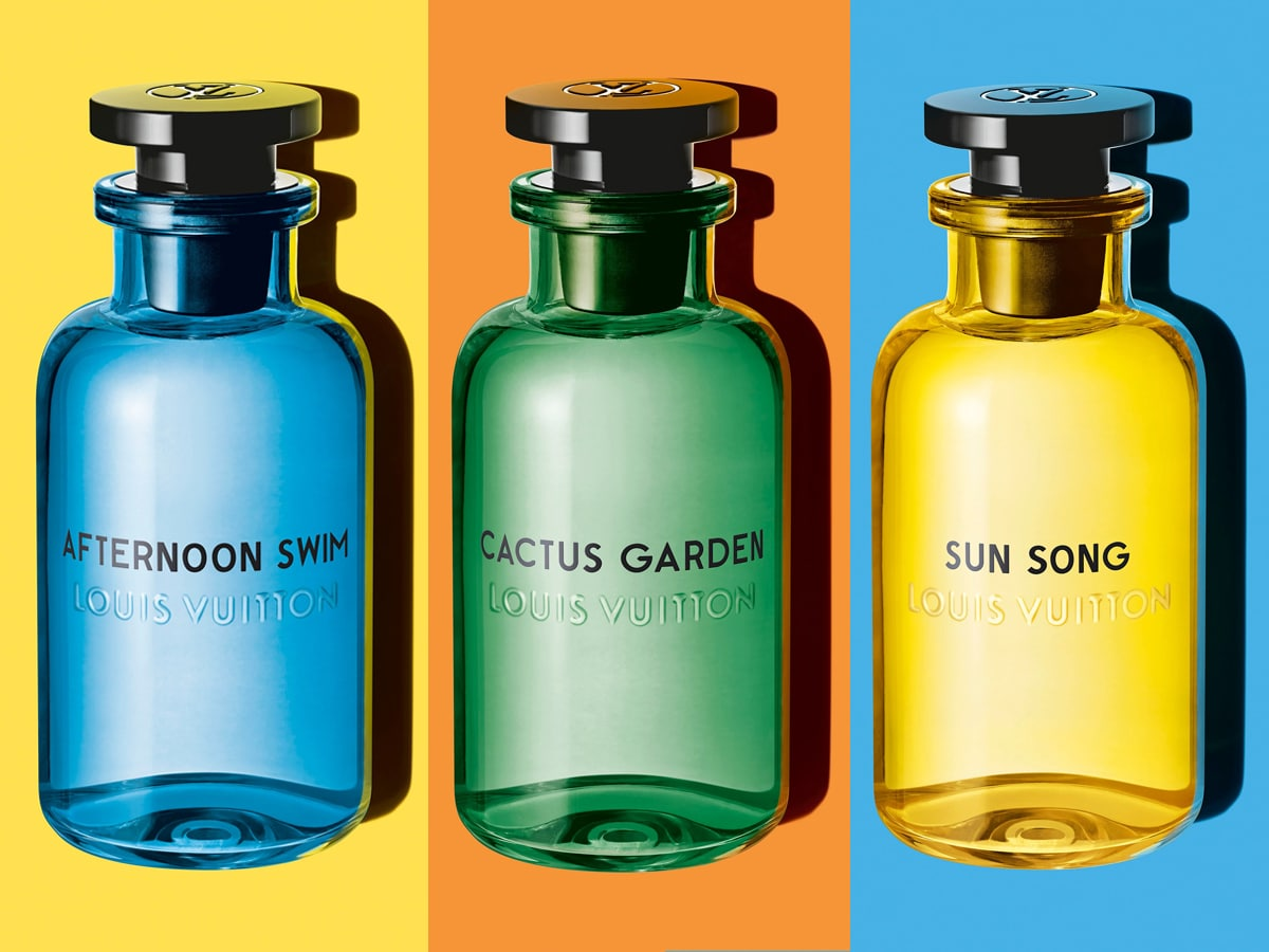 Louis Vuitton Afternoon Swim, Sun Song и Cactus Garden