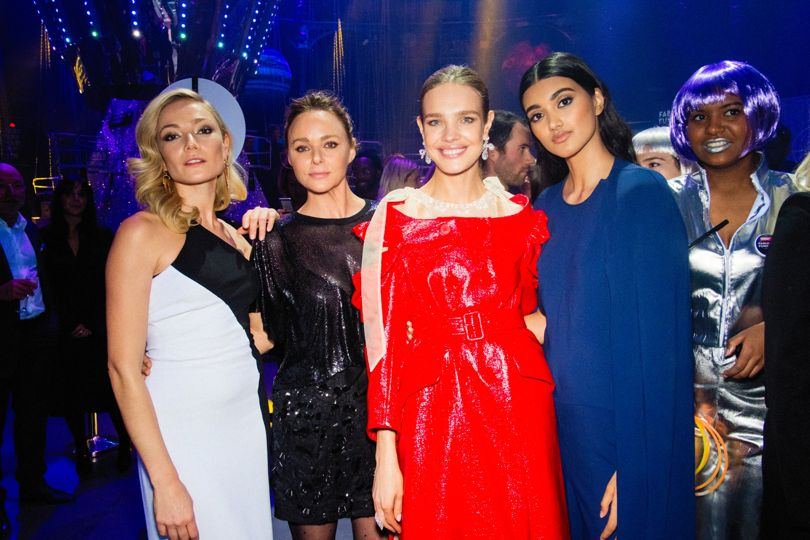 Clara Paget, Stella McCartney, Natalia Vodianova and Neelam Gill..jpg
