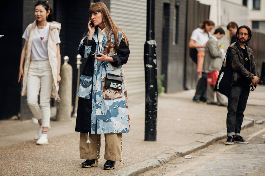London Fashion Week Street-style menswear 2020