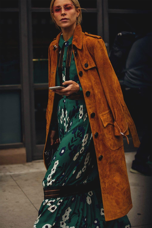 Фото с нью йоркской недели моды
