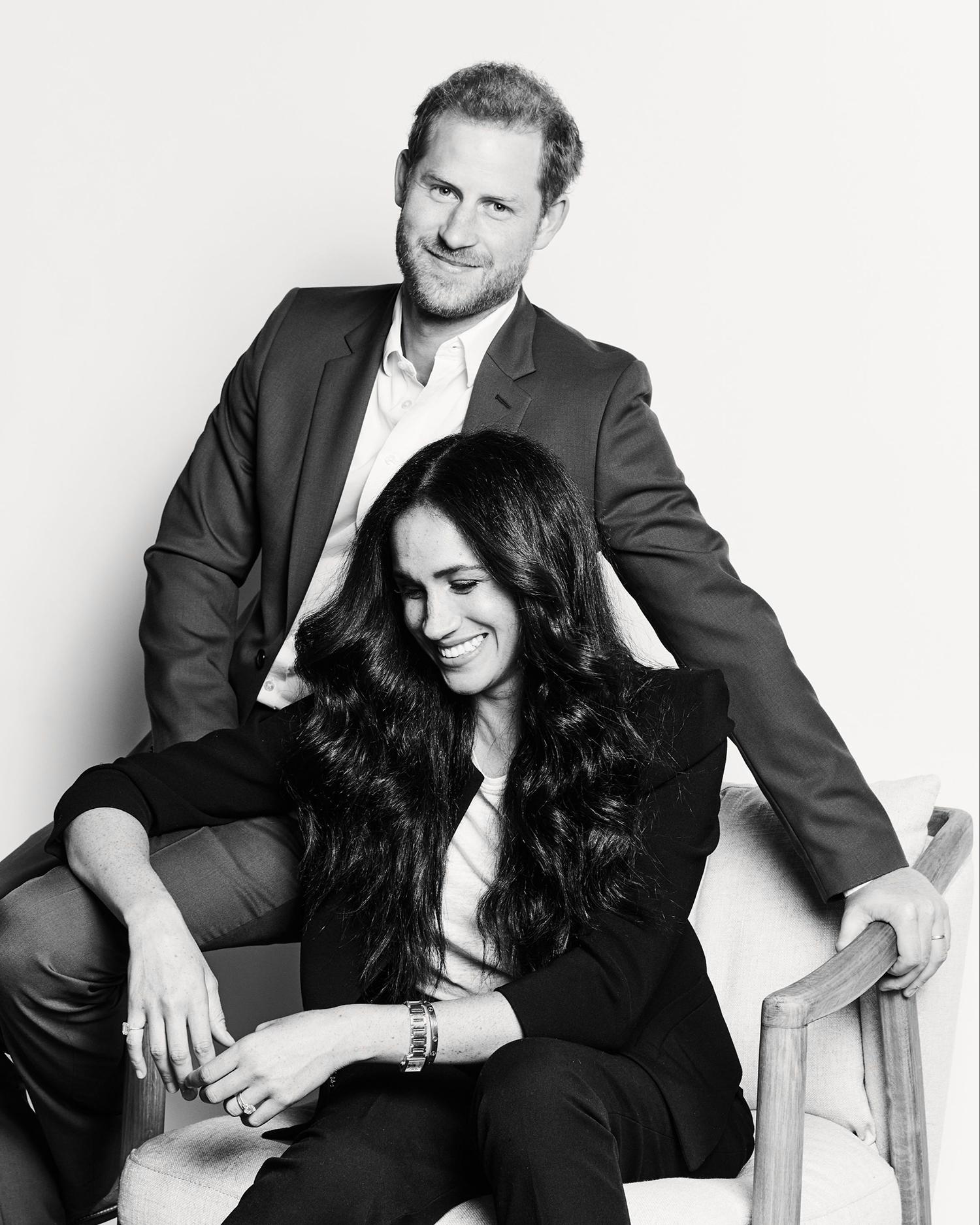 Новая инклюзивная фотосессия Меган Маркл и принца Гарри - MainStyles.ru
