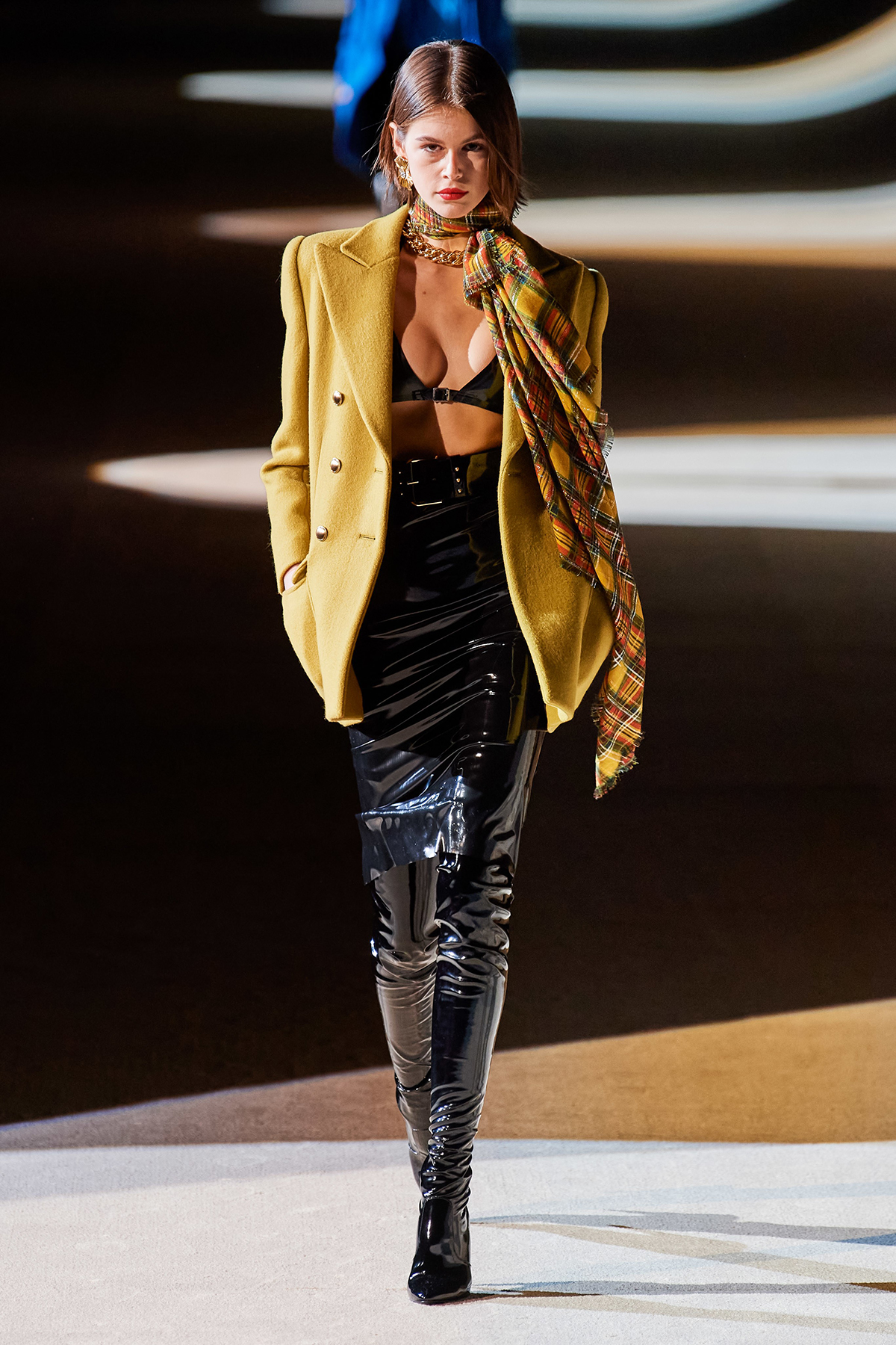 Saint Laurent Fall 2020 / Saint Laurent осень-зима 2020