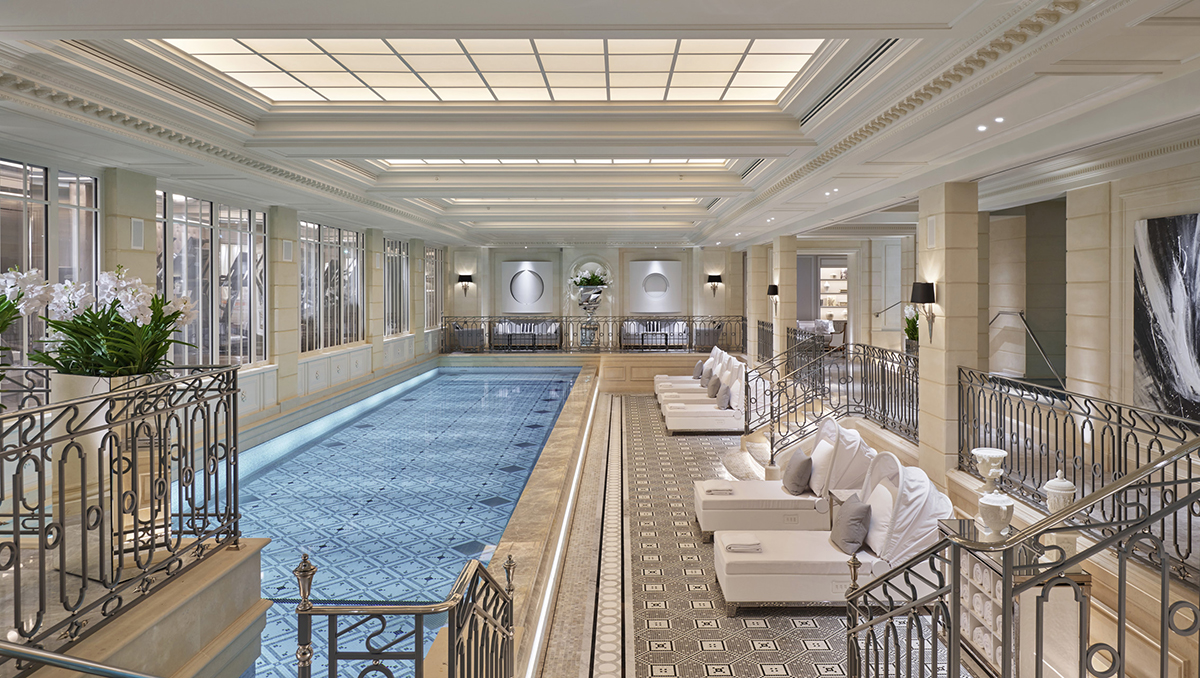 Спа-центр Le Spa в отеле Four Seasons Hotel George V в Париже