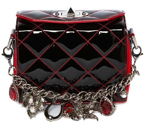 mcqueen_Black patent leather Box Bag with charms.jpg